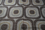 Gemotric Africa Chenille Sofa Fabric (FTH31149)