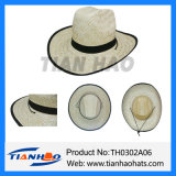 Kwai Grass Sombrero Cowboy Straw Man Sun Hat for Promotion