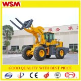 Multifunctional Small Wheel Loader Wsm951t18 Type Forklift 4X4 Drive
