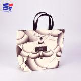 Handmade Custom Design Logo Gift Paper Bag with Plastic Rope
