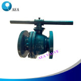 2 PC Cast Steel Full Bore Soft Sealed Seat Floating Ball Valve