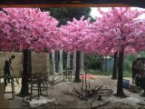Pink Artificial Cherry Blossom Tree