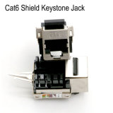 Network Shielded RJ45 Keystone Module CAT6 Keystone Jack Connector