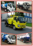Isuzu 5000L Sewage Suction Truck with Vacuum Pump for Sucking Waste
