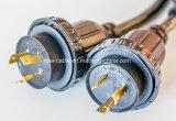 Dryer Cords, Type Srdt, 30 AMPS, 60 Degree C, 300vs, 6′ 4/10 Srdt Dryer 30AMP, Black