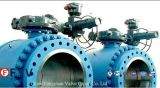 ANSI Electric Cast Steel Trunnion Mounted Ball Valve