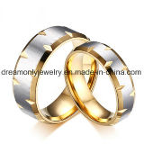 Factory Wholesale Engagement Ring Wedding Jewelry Set for Men and Women