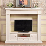 Ce Approved Modern Simple TV Stand Fireplace Home Furniture (346)