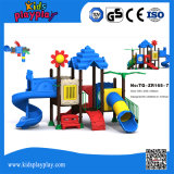 Kindergarten Plastic Outdoor Children Playground Equipment for Sale