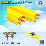 4p, 60A Enclosed Insulated Crane Power Rail Conductor Bar System