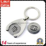 2017 High Quality Custom Trolley Coin Keychain Shopping Coin