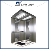 Passenger Lift Elevator with Mirror Etched Stainless Finish