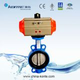 Pneumatic Butterfly Valve Wafer Ductile Iron Ss Disc EPDM Seat