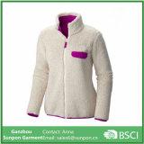 Women′s Heavy Wright Full Zipper Fleece Jacket