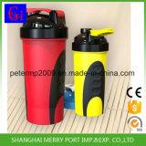 Hot Sale Shaker Bottle Plastic Water Protein Shaker Bottle