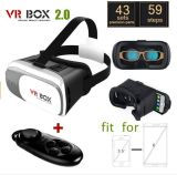 Factory Directly V2 Vr 3D Glasses 2.0 Virtual Reality Vr Box 3D Glasses Google Cardboard 3D Glasses for
