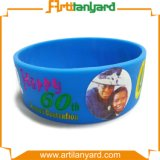 Promotional Rubber Printed Silicone Wristband