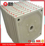 High Pressure PP Material Round Chamber Filter Plate