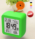 Original Design Big Digital Display with Thermometer and Hygrometer Calendar Clock