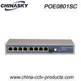 100Mbps 9 Ports Poe Switch with 1 Sc Port (POE0801SC)
