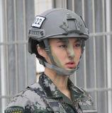 Nij Iiia Certificate Kevlar Material Fast Type Bulletproof Helmet in Multicamo Color
