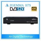 Multi-Functions Zgemma H7s Multistream Decoder&4k Uhd TV Box 2*DVB-S2X+DVB-T2/C Triple Tuners