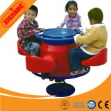 Kids Play 4-Seats Plastic Outdoor Rocking Horse for Children