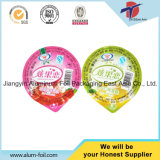 Plastic Cup Sealing Foil Cover for Dairy