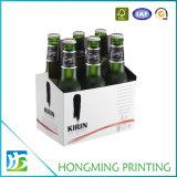 Heavy Duty White 6 Pack Cardboard Beer Box