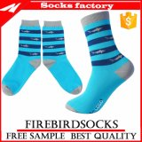 Happy Socks with Sky Blue Custom Your Designs