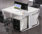2 Seats Straight Desk Workstation Cluster Staff Office Partition (HX-NCD118)