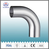 Stainless Steel Pipe Fitting: 90 Degree Lengthening Welded Elbow (DIN-No. NM0111002)