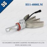 Lmusonu 5s H8 H9 H11 Car Headlight LED 35W 4000lm Waterproof IP67 Copper Belt Good Quality