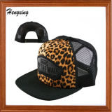 Fashionable 100% Cotton Mesh Flat Brim Snapback Caps