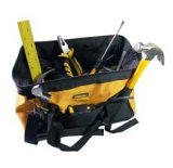 Tool Bag Fabric Reinforced-Base for Tool Storage Handtools