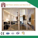 Double Glazing Exterior Glass Aluminium/Aluminum Sliding Doors