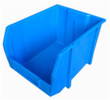 Plastic Storage Box, Blue Stacking Bin (PK007)