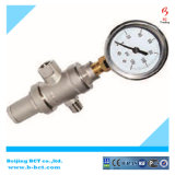 NPT Brass Water Reducing Pressure Valve with Gauge