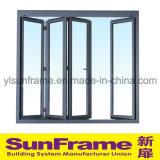 Aluminium Bi-Fold Window System for Interior Use