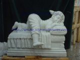 Cherub Marble Statue Marble Sculpture Little Baby Sculpture