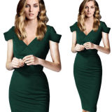 2015 New Arrival Fashion Middle-Aged Women Cocktail Dress