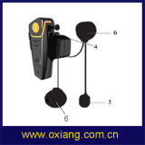 Motorcycle Bluetooth Intercom Helmet Headphone with FM Radio
