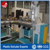 PVC Plastic Single Wall Corrugated Pipe Extrusion Line