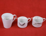 Gold Supplier Coffee Cups and Saucers Simple Decaled Tea Cups Ceramic for Moden Style