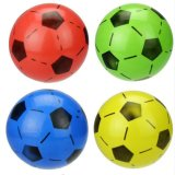 Mixed Color Children Sports Inflatable Plastic Ball Soccer Football Kids Toys 20cm Diameter