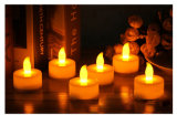 Rechargeable Flicker Tealight Candle LED