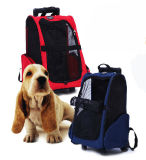 Pet Trolley Wheel Carrier Trolley Rolling Wheel Pet Backpack Carrier