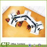 Fashion Office Workstation 120 Degree Modular Office Cubicle