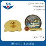 High Quality Metal Pin Badge with Butterfly Clasp for Garment