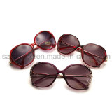 High Quality Custom Prevent UV Solid Women Sunglasses